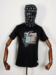 Huf worldwide Footwear Skate Shoes shoes t-shirt Tee Al Fresco black IN S