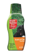 Bayer Scat A Cat Granules 350g - Deters Cats From Scratching Digging Fouling