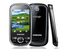 Samsung Galaxy Europa gt-i5500 Black Smartphone nero senza SIM-lock NUOVO