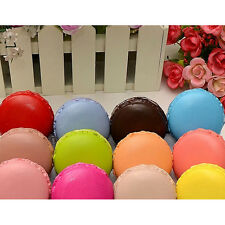1Pc Huge 4cm Hard Dessert Macaron Squishy Cell Phone Charm Key Straps Random