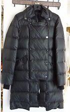 NWT BCBG MaxAzria Women's Beckett Long Down Coat Jacket Black Size XS MSRP448