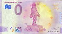 BILLET 0  EURO DOUARNENEZ BOLOMIG  FRANCE  2021 NUMERO DIVERS