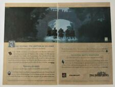 Final Fantasy Tactics Print Ad Art Game Poster PROMO Official Square PlayStation