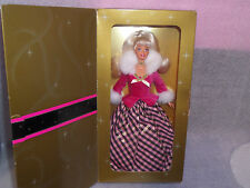 VINTAGE AVON BARBIE DOLL BOXED WINTER RHAPSODY SPECIAL EDITION.