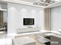 Classical Simple Modern Wallpaper Living Room Bedroom 3D Fine Embossed