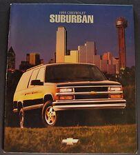 1995 Chevrolet Suburban Truck Catalog Brochure LS LT Excellent Original 95
