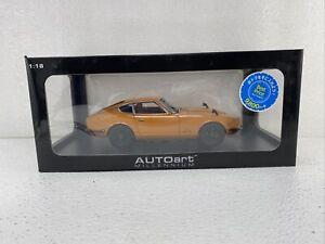 1/18 Auto Art Nissan Fairlady  Z432 Orange RARE  Part # 38529 READ ME