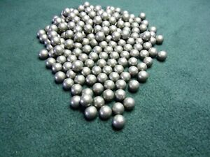 100 9.5 mm approx round lead balls catapult slingshot ammo
