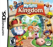 My Sims Kingdom Nintendo DS Great Condition Complete Fast Shipping