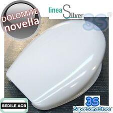 3S SEDILE COPRIWATER WC SOSPESO NOVELLA Ceramica Dolomite in TERMOINDURENTE ACB