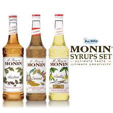 Monin Sciroppo Di Caffè-utilizzato Da Costa Coffee - 1l Classic preferiti Trio Set Regalo