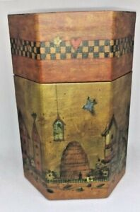 Bob's Boxes Primitives The Candle Box - All Creatures Great & Small