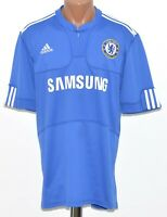 CHELSEA 2009/2010 HOME  FOOTBALL SHIRT JERSEY ADIDAS SIZE L ADULT