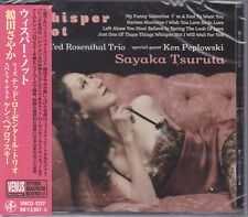 Sayaka Tsuruta Ted Rosenthal Whisper Not Japan Venus Records Audiophile Jazz CD