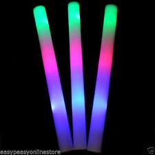 Accessoires fluorescents de fête multicolore pour la maison