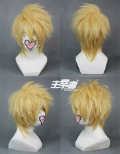 Toma AMNESIA Blonde Short Anime Cosplay Wig + free wig cap +Track number