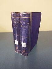 The English Bible - 2 Volumes - 1876