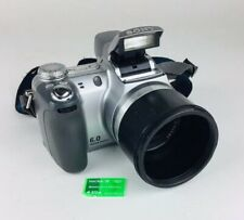 Sony Cyber-shot DSC-H2 6.0MP Digital Camera - Silver With Memory Card