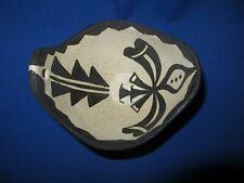 "NEW Santo  Domingo ""KEWA"" Pueblo Monochrome Moth Pottery by Robert Tenorio 5"""