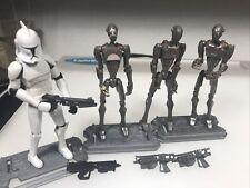star wars battle droid sniper rifles 10 loose lot.