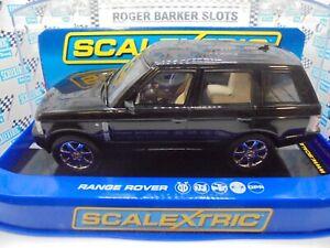 "Scalextric  C2878 Range Rover ""Black"" lights/DPR  BNIB"