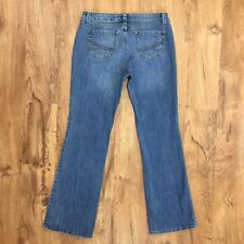 Nine West Santa Monica Boot Cut Jeans Stretch Denim Womens Size 8 / 28 Average