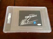 Mike Tyson Signed Nintendo Punch Out Instruction Booklet PSA/DNA Steiner Slabbed