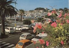 BF25291 bandol balcon fleuri sur le port car  france front/back image