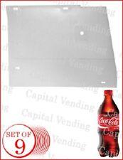 Dixie Narco 5591 - Ecc 2145 bottle drop spacers shims for 20oz bottle - set of 9