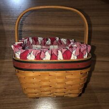 New Listing2001 Longaberger All American Collection Strawberry Basket w/Liner and Protector