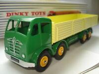 Atlas Dinky Supertoys 901 Green + Yellow Foden 8 x Wheel Wagon Mint/Boxed