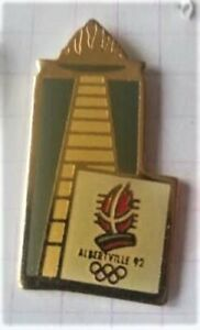 PIN'S -  Flamme Olympique - JO Hiver Albertville