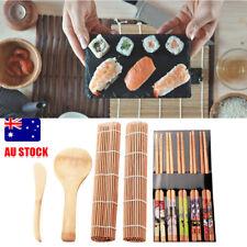 13Pcs/set Sushi Roll Maker Making Kit Mold sushi blade spoon chopsticks DIY AU