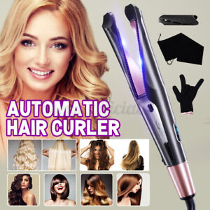 2 in1 Curling Iron Hair Straightener and Curler Tyme Negative Curling Iron US