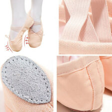 Canvas Pointe Split Sole Dance Kids Adult Slippers Ballet Shoes
