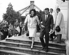 JOHN & JACKIE KENNEDY Photo Picture JFK JACQUELINE 1962 President Print 8x10