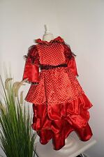 Kleid Spanierin Fasching Karneval NEU Gr. 116 5/7 Jahre hochwertig uvp: 39,95 Eu