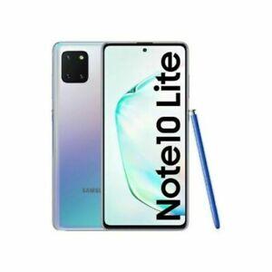Samsung Galaxy Note10 Lite SM-N770F/DS - 128GB - Aura Glow -Unlocked - Dual SIM