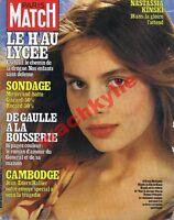 Paris Match 1587 26/10/1979 Nastassia Kinski drogue Haschich de Gaulle Cambodge