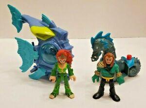 DC Super Friends Imaginext - Mera & Battle Sub  Aquaman & Horse