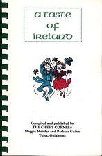 A Taste Of Ireland Chef's Corner Recipes Tulsa OKLAHOMA Cookbook St Patricks Day