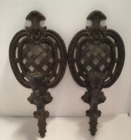 "1959 Multi Product Inc. 2 Wall Sconces 15.5"" Long X 6.5""wide"