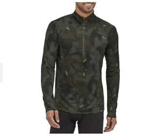 PATAGONIA Men's Capilene Midweight Zip-Neck Kelp Forest Size M NWT