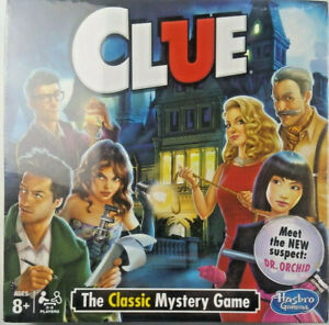 Clue Board Game - The Classic Mystery Game - Factory Sealed! Awesome!