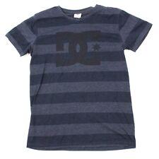 DC Shoes Youth XL 18 / 20 Tshirt Striped Short Sleeve Skater Shirt V-neck Loose