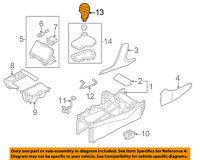 TOYOTA Genuine 33504-0R020-B0 Shift Lever Knob Sub Assembly