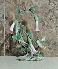 Homco '90 Classic Porcelain Nature's Winged Jewel Hummingbird Bird Figurine