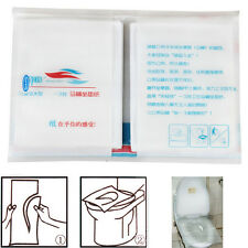 10 Disposable Paper Toilet Seat Covers Hygiene Health Travel Holiday Protect WC