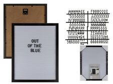 Lavagnetta Per Lettere 28x35 Cm in Plastica + 145 Lettere e Numeri