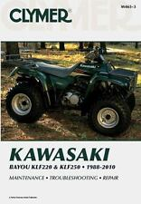 Kawasaki Bayou KLF220 & KLF250 1988-2010 (Clymer Motorcycle Repair)-ExLibrary